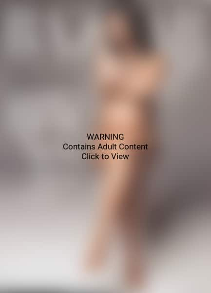 Britney Spears Nude and Pregnant