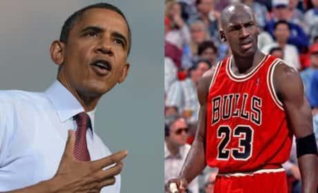 Barack Obama Disses Michael Jordan!