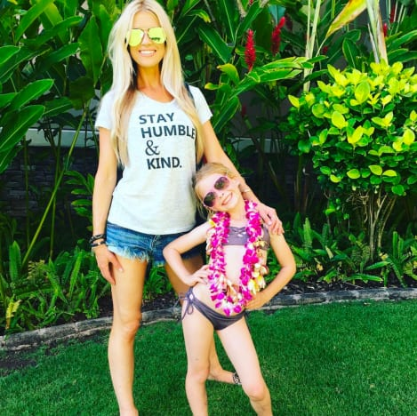 Christina El Moussa and Young Daughter