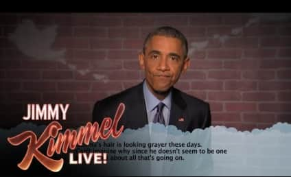 President Obama Reads Mean Tweets About Himself