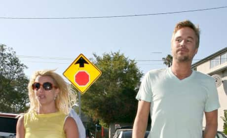 Britney Spears and Jason Trawick Picture