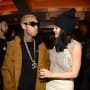 Kylie Jenner and Tyga at Yeezy 3 fashion show