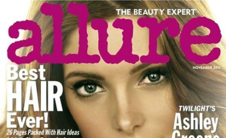 Ashley Greene Allure Cover