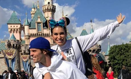 Ashley Iaconetti and Kevin Wendt at Disneyland