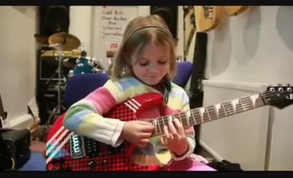 Seven-Year-Old Girl Covers Guns N' Roses, KILLS IT on Guitar
