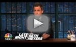 Seth Meyers Comments on Donald Trump Presidency