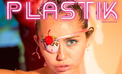 Miley Cyrus: Topless, Weird for Plastik Magazine