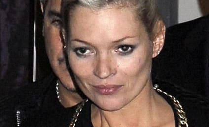 Kate Moss is a Train Wreck