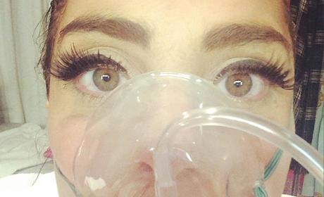 Lady Gaga in the Hospital