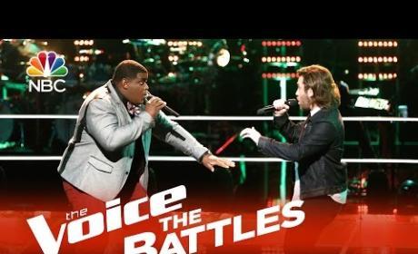 Blaze Johnson vs. Michael Leier (The Voice Battle Round)