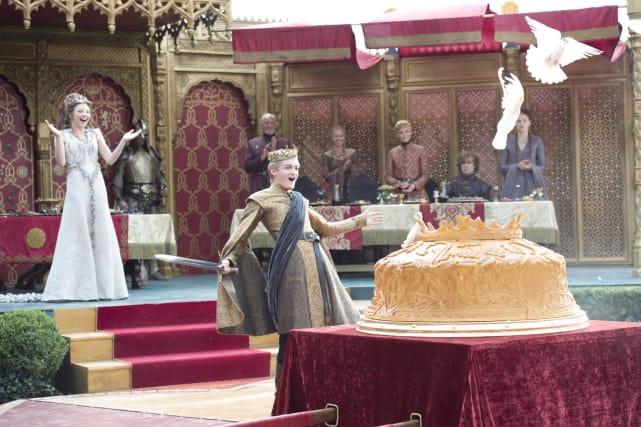 Joffrey Baratheon: Purple Wedding Photo