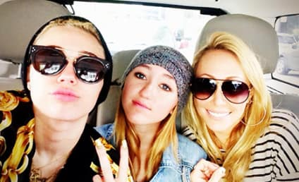 Miley Cyrus Tweets Photo of Sister and Mother: The Baddest Bitches Around!