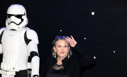 Carrie Fisher Honored, Celebration at Star-Studded, Emotional Memorial