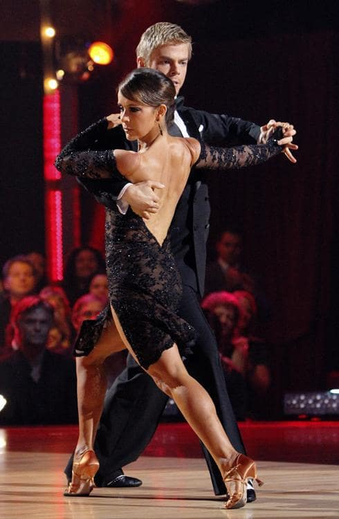 Derek Hough and Jennifer Grey Picture