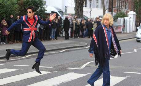 Ben Stiller and Owen Wilson Get Into Character For 'Zoolander No. 2'
