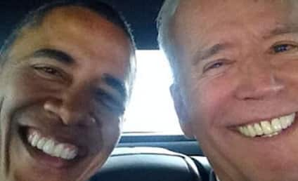 Joe Biden Joins Instagram, Posts First Selfie with Barack Obama