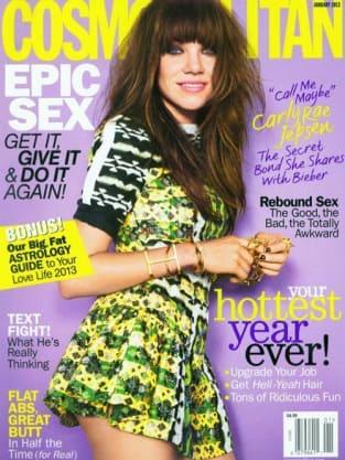 Carly Rae Jepsen Cosmopolitan Cover