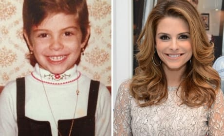 Maria Menounos as a Kid