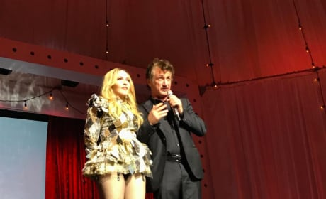 Madonna and Sean Penn at Charity Auction