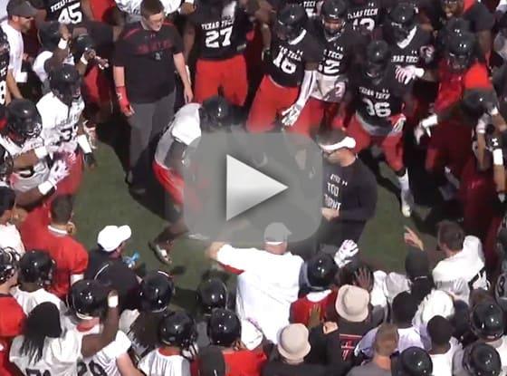 Texas Tech Football Dance-Off