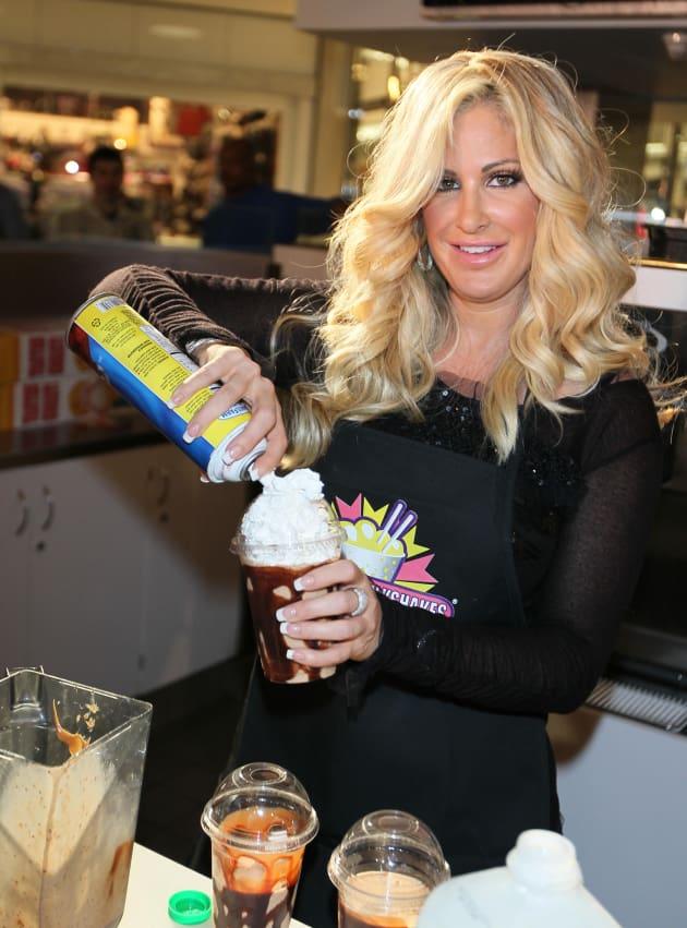 Kim Zolciak Milkshake