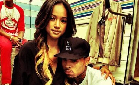 Karrueche, Chris Brown Photo