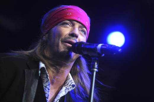 Bret Michaels in NYC