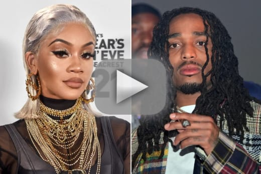 Quavo assaults saweetie on camera denies any wrongdoing