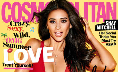 Shay Mitchell Cosmo Cover
