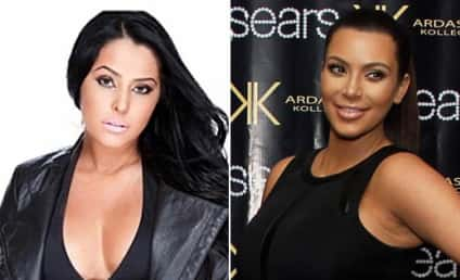 Myla Sinanaj: Obsessed With Kim Kardashian! Getting Plastic Surgery to Look Like Her!