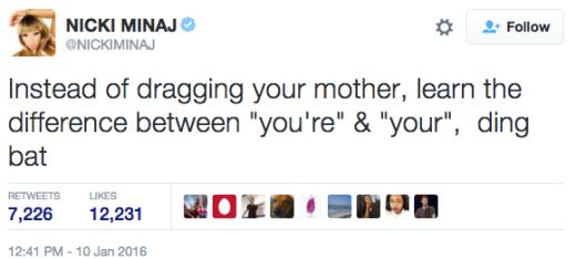 Nicki Minaj - Farrah Abraham Twitter War 7