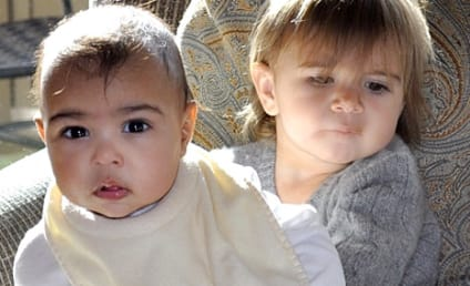 North West and Penelope Disick: Adorable BFFs!
