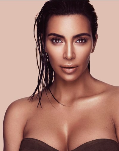 Kim Kardashian Beauty Photo