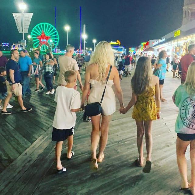 Ashley martson and kids