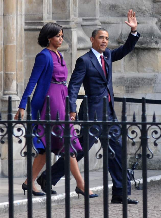 Barack and Michelle Obama Pic