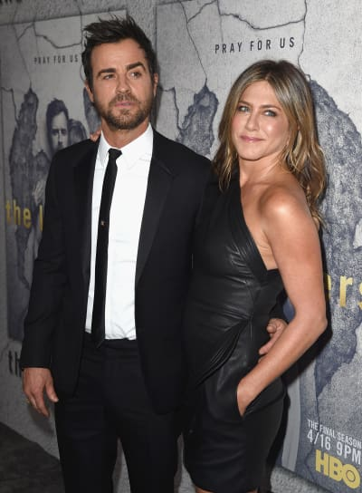 Justin Theroux and Jennifer Aniston, Back in the Day