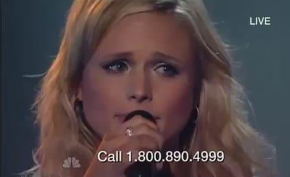 Miranda Lambert Tears Up During Tornado Relief Concert Performance