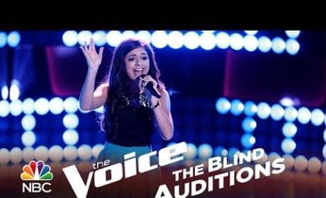Bryana Salaz - Problem (The Voice Audition)