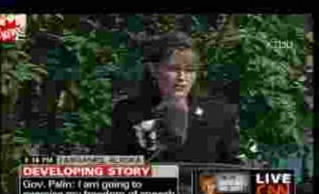 Sarah Palin Farewell Speech: Part One