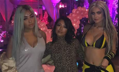 Kylie Jenner at Christina Aguilera's Birthday Party Photo