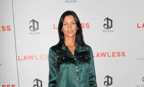 Liberty Ross on the Lawless Red Carpet