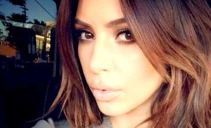 Kim Kardashian: Back to Brunette!!!
