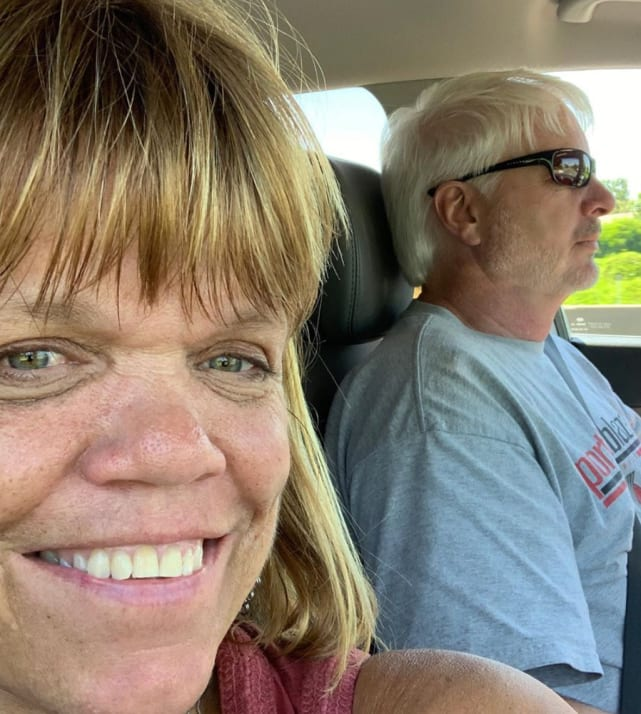 Amy roloff rides with chris marek