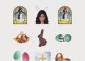 Kim Kardashian Celebrates Easter with Black Jesus Kimoji