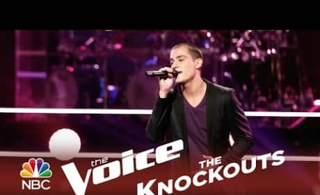 Chris Jamison - Sittin' on The Dock of the Bay (The Voice Knockouts)