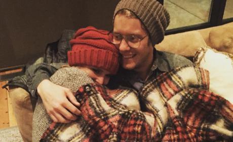Miranda Lambert Snuggles With Anderson East