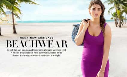 H&M Swimsuit Model: Size 12! Normal-Looking!
