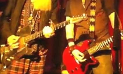 Johnny Depp Jams with ZZ Top
