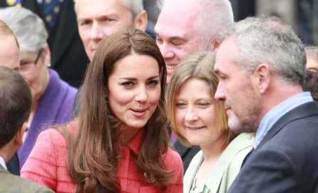 Coy Kate Middleton
