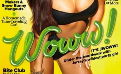 JWoww Maxim Cover: Voluptuous, Ridiculous